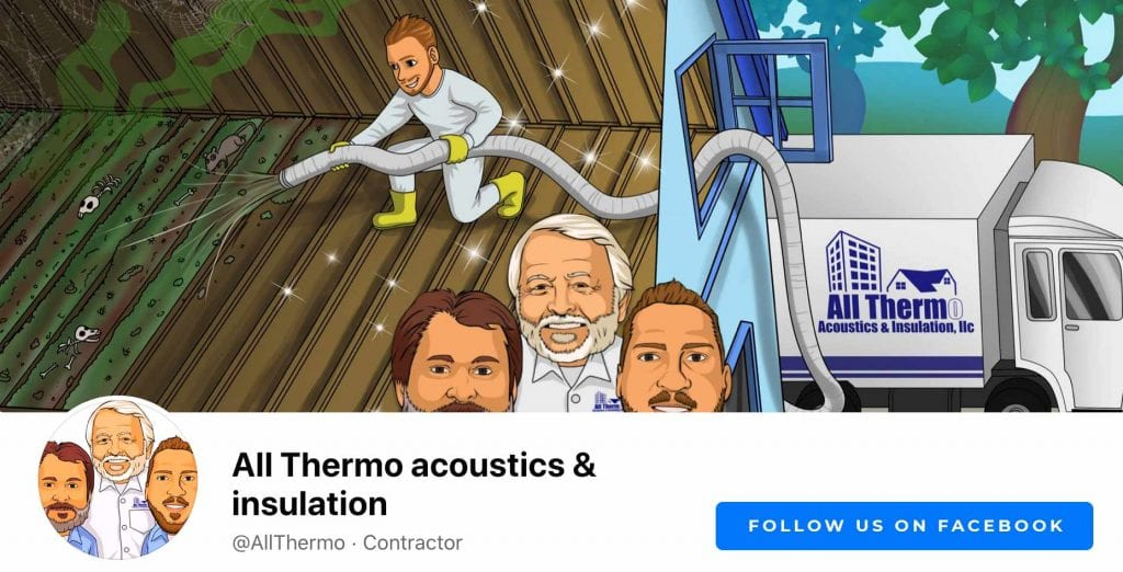 About AllThemo; All Thermo Facebook; Why Allthermo Insulation